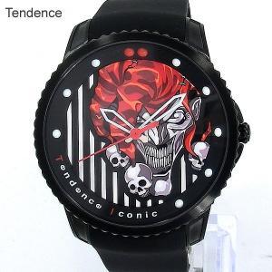Tendence テンデンス 腕時計 ICON ICONIC TGX30003 ユニセックス スカル ジョーカー|pre-ma