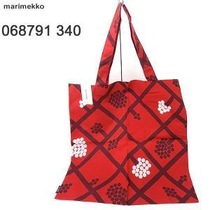 マリメッコ marimekko トートバッグ/エコバッグ SPALJE BAG  068791 340 コットン 現品限り 新品|pre-ma