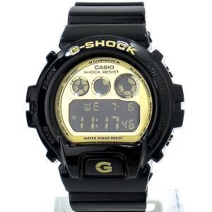 CASIO カシオ G-SHOCK 腕時計 DW-6900CB-1DS ブラック/ゴールド メンズ  アウトレット箱不良|pre-ma