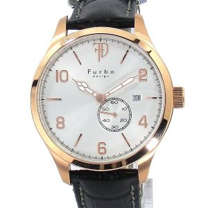 フルボ デザイン 腕時計 自動巻 F5023PSIBK メンズ レザー  【アウトレット】|pre-ma