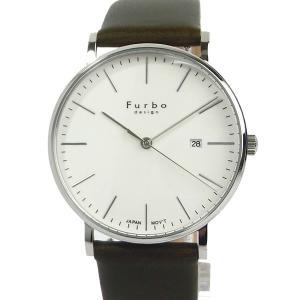 フルボ デザイン 腕時計 クォーツ FREE NOTE F02-SWHLG メンズ シルバー/グリーン系 レザー JAPAN MOVEMENT【展示品アウトレット】|pre-ma