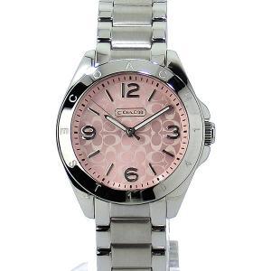 コーチ COACH  レディース腕時計 トリステン 14501782 ピンク ステンレス【アウトレット展示品】|pre-ma