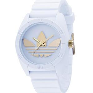 ADIDASアディダス 腕時計  ADH2917 サンティアゴ ゴールド/ホワイト ラバー  メンズ 【アウトレット】決算セール|pre-ma