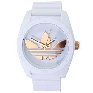 ADIDASアディダス 腕時計  ADH2918 サンティアゴ ローズゴールド/ホワイト ラバー  メンズ 【アウトレット】決算セール|pre-ma