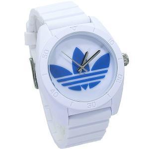 ADIDASアディダス 腕時計  ADH2921 サンティアゴ ブルー/ホワイト ラバー  メンズ 【アウトレット】決算セール|pre-ma