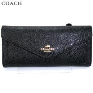 コーチ COACH  長財布 二つ折り 57715 LIBLK ブラック 131680 アウトレット|pre-ma