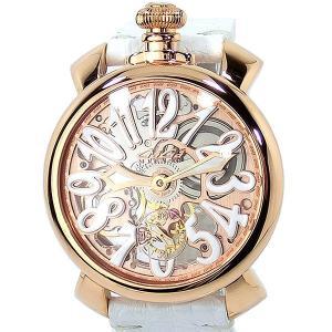 ガガミラノ GaGa MILANO 腕時計 5311.01 MANUALE 48MM スケルトン ローズゴールド【アウトレット特価-B2】|pre-ma