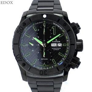 EDOX エドックス 腕時計 01115 37N NV クロノオフショア 1 オート メンズ 45mm ブラック セラミック 新品 決算SSP|pre-ma