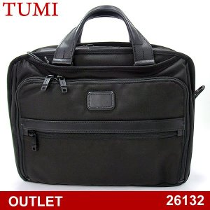 【アウトレット付属品欠品-F55】TUMI トゥミ  ビジネスバッグ/ブリーフケース ALPHA 2 26132 D2 ブラック オーガナイザー・ブリーフ|pre-ma