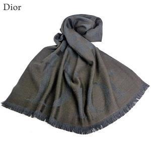 Dior クリスチャン・ディオール 大判 ストール 200×70cm ウール100% 61DSO306A194 701 740 イタリア製 新品アウトレット 現品限り|pre-ma