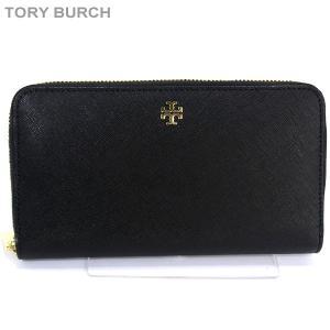 トリーバーチ TORY BURCH 長財布 ラウンドジップ  11169071 001/ブラック 【アウトレット】