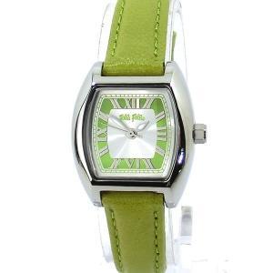 フォリフォリ Folli Follie 腕時計 レディース F1185L-SEE グリーンレザー 新品 大特価セール|pre-ma