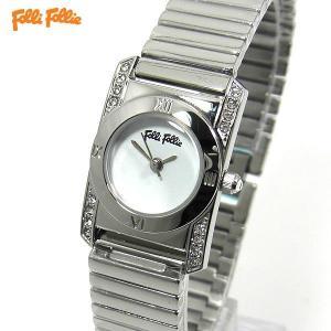 フォリフォリ Folli Follie 腕時計 レディース WF8A042BPWXX シルバー 蛇腹ベルトブレス アウトレットセール|pre-ma