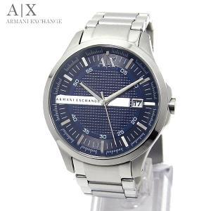 【アウトレット特価:付属品なし】アルマーニ エクスチェンジ 腕時計 AX2132 ネイビー/シルバー ARMANI EXCHANGE|pre-ma