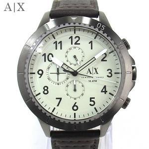 【アウトレット訳あり】アルマーニ・エクスチェンジ 腕時計 AX1757 クロノグラフ 50mm レザー|pre-ma