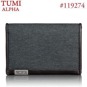TUMI トゥミ  カードケース/パスケース 119274ATID アンスラサイト MULTI WINDOW CARD CASE pre-ma