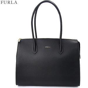 FURLA フルラ トートバッグ  PIN L SATCHEL / 924609  BMI3 OAS O60  ONYX/ブラック 【アウトレット-G02】|pre-ma