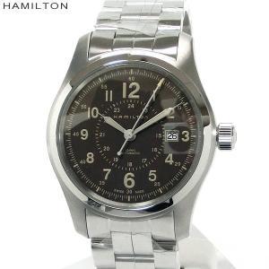 ハミルトン HAMILTON 腕時計 カーキ フィールド オート H70605193 メンズ 自動巻 ブラウン|pre-ma