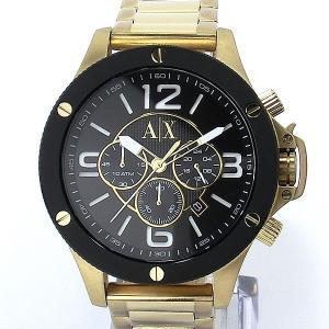 【アウトレット訳あり】アルマーニ エクスチェンジ 腕時計 AX1511 クロノグラフ ゴールド/ブラック|pre-ma