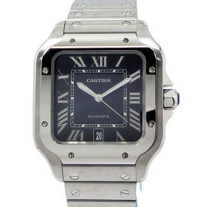 カルティエ CARTIER メンズ 腕時計 サントス WSSA0013 LM SANTOS DE CARTIER ブルー 自動巻き 新品 アウトレットセール|pre-ma