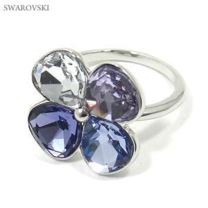 スワロフスキー SWAROVSKI  リング/指輪  クローバー TALIA 1169518 サイズ50 8号|pre-ma