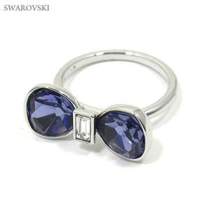 スワロフスキー SWAROVSKI  リング/指輪  リボン Timid 1169529 サイズ50 8号|pre-ma