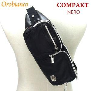 Orobianco オロビアンコ  ボディバッグ/ウエストポーチ COMPAKT-C NERO ブラック pre-ma