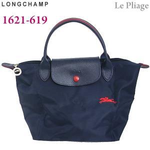 LONGCHAMP ロンシャン 折りたたみトートバッグ ナイロン S 1621-619 556 ネイビー Le Pliage Club アウトレット特価|pre-ma