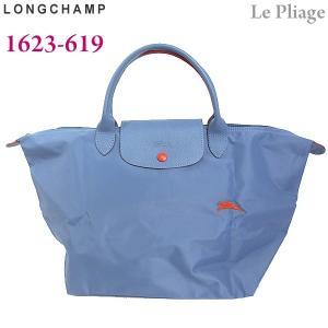LONGCHAMP ロンシャン 折りたたみ トートバッグ M ナイロン 1623-619 564 ライトブルー Le Pliage Club アウトレット特価|pre-ma