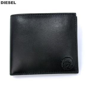 ディーゼル DIESEL 財布 二つ折り X05081 P1508 T8013 ブラック メンズ HIRESH S|pre-ma