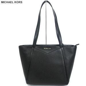 マイケルコース MICHAEL KORS トートバッグ WHITNEY 30S8GN1T1L 001 ブラック アウトレット|pre-ma