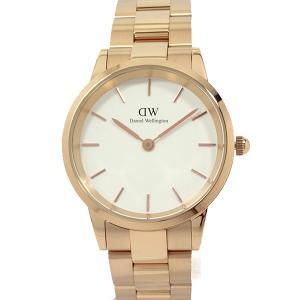 ダニエルウェリントン 腕時計 36mm Iconic Link DW00600209 ローズゴールド/ホワイト Daniel Wellington 新品|pre-ma