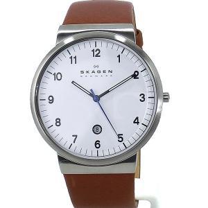 SKAGEN スカーゲン 腕時計 メンズ SKW6082   レザー 【アウトレット訳あり】|pre-ma