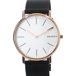 SKAGEN スカーゲン 腕時計 メンズ SKW6430 SIGNATUR 40mm  レザー 【アウトレット展示品】|pre-ma