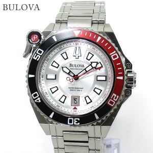 ブローバ BULOVA メンズ 腕時計 98B167 ACCUTRON 300m防水 シルバー ステンレス|pre-ma