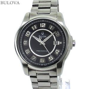 ブローバ BULOVA メンズ 腕時計 96B129 PRECISIONIST クォーツ ステンレス 【アウトレット】|pre-ma