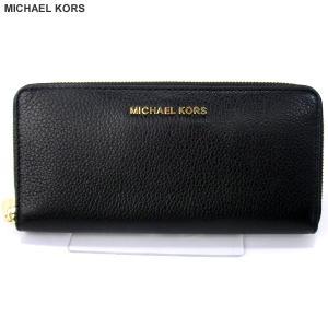 マイケルコース MICHAEL KORS 長財布 ラウンドファスナー 32H2MBFE1L 001 ブラック 121239【アウトレット特価】|pre-ma