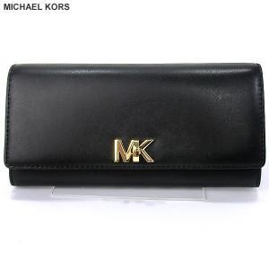 マイケルコース MICHAEL KORS 長財布 二つ折り 32T7GOXE3L 001 ブラック 136536【アウトレット特価】|pre-ma