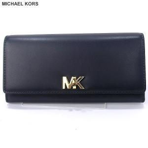マイケルコース MICHAEL KORS 長財布 二つ折り 32T7GOXE3L 414 ADMIRAL/ネイビー 136537【アウトレット特価】|pre-ma