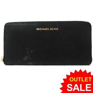 【アウトレット訳あり-C01】マイケルコース MICHAEL KORS 長財布 ラウンドファスナー 32S3GTVE3L 001 ブラック|pre-ma
