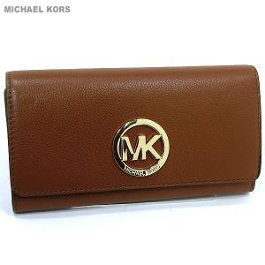 マイケルコース MICHAEL KORS 長財布 二つ折り 32F2GFTE3L 230 LUGGAGE  【アウトレット】|pre-ma
