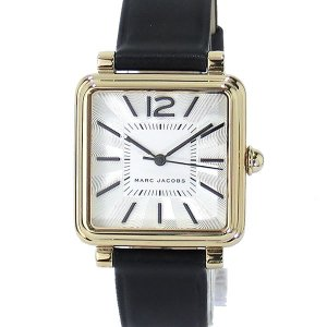 【アウトレット訳あり】マークジェイコブス 腕時計 レディース MJ1437 ヴィク 30 スクエア レザー|pre-ma