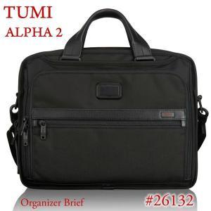 TUMI トゥミ  ビジネスバッグ/ブリーフケース ALPHA 2 26132 D2 ブラック オーガナイザー・ブリーフ|pre-ma