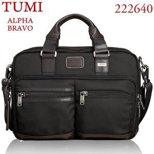 TUMI トゥミ ビジネスバッグ/アンダーセン スリム コミューターブリーフ ALPHA BRAVO 222640 HK2 ヒッコリー|pre-ma