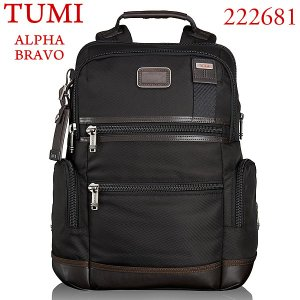 TUMI トゥミ  バックパック/リュック Knox ALPHA BRAVO 222681 HK2 ヒッコリー|pre-ma