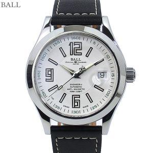 BALL ボールウォッチ 腕時計 エンジニアII 自動巻 NM1020C-L4J-WH メンズ レザー 新品特価|pre-ma
