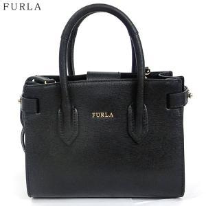 【アウトレット訳あり-M05】FURLA フルラ ハンドバッグ PIN MINI TOTE / 978752 BQM3 B30 O60 ブラック|pre-ma