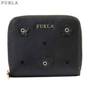 FURLA フルラ 二つ折り 財布 ラウンドジップ  BABYLON S / 870843 PS21 ND1 O60 ブラック|pre-ma