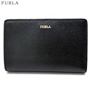 FURLA フルラ 財布 二つ折り ショート  BABYLON M BI-FOLD  / 1023436  PBV8 B30 O60 NERO ブラック|pre-ma