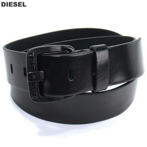 ディーゼル DIESEL メンズレザーベルト B-STAR BELT  X03721 PR227 H5902 ブラック/ブラック|pre-ma